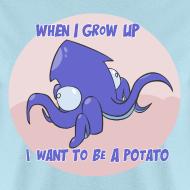 Design ~ Mens Tee: Potato Squid