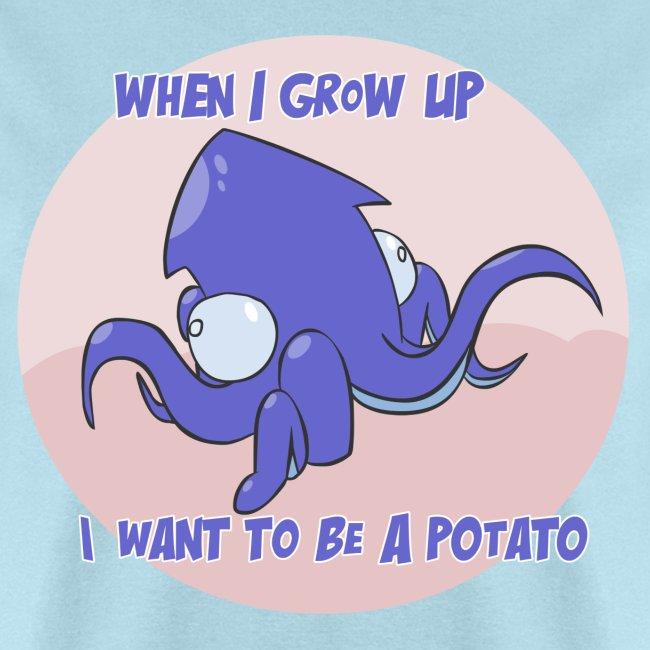 Mens Tee: Potato Squid