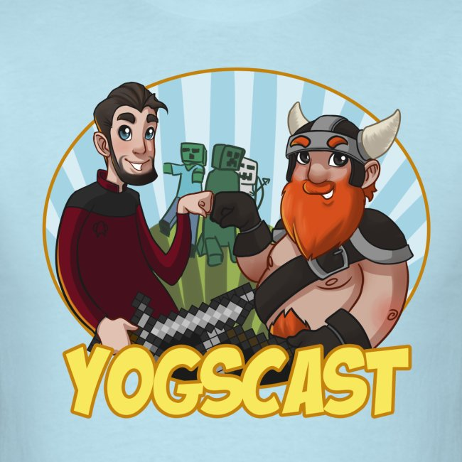 Mens Tee: Yogscast Duo
