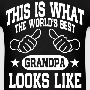 World's Best Grandpa T-Shirts - Men's T-Shirt