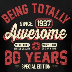 80 Years Of Being Awesome T-Shirts - Men's T-Shirt