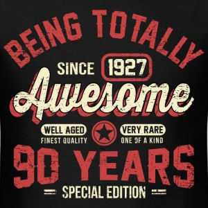 90 Years Of Being Awesome T-Shirts - Men's T-Shirt