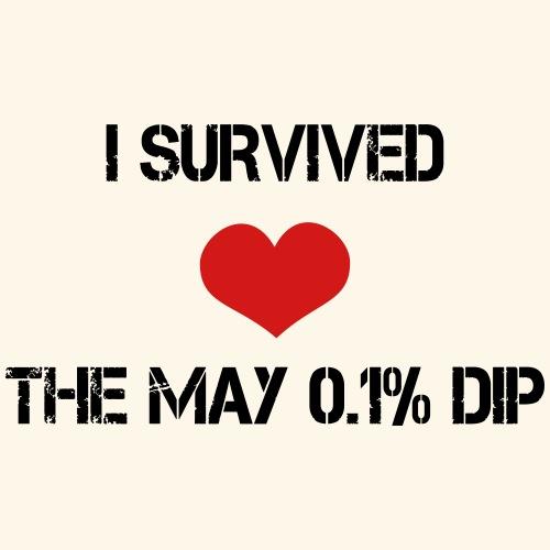 Trader's Shirt - I survided the May 0.1%Dip