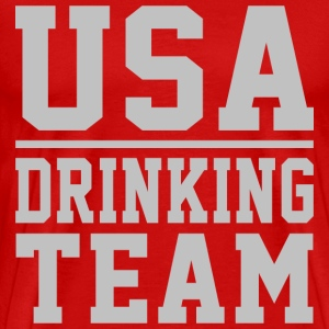 USA DRINKING TEAM - Men's Premium T-Shirt
