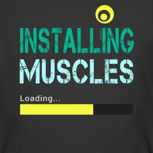Installing Muscles - Men's 50/50 T-Shirt