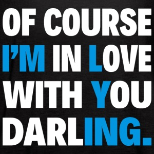 OF COURSE I'M IN LOVE WITH YOU DARLING. - Women's Flowy Tank Top by Bella