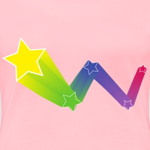 bouncing star art - Women's Premium T-Shirt