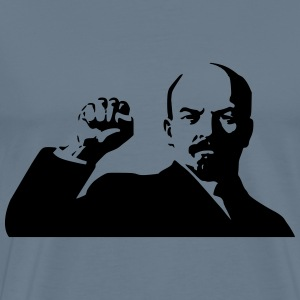 lenin fist - Men's Premium T-Shirt