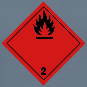 ADR pictogram 2.1Flammable gases - Men's Premium T-Shirt