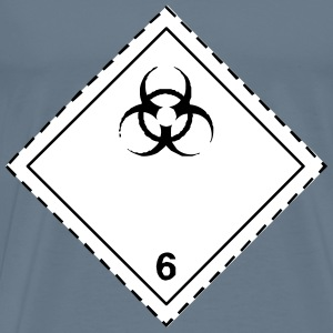 ADR pictogram 6.2Infectious substances - Men's Premium T-Shirt