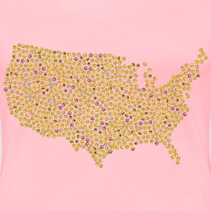 United States Smileys - Women's Premium T-Shirt