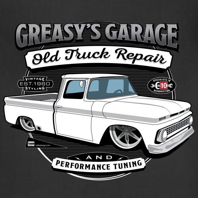 Greasy's Garage Shop Apron