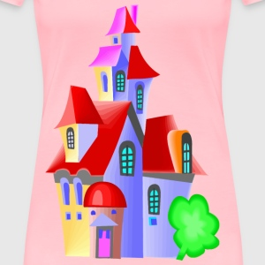 Fairytale castle 11 - Women's Premium T-Shirt