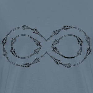 Infinity Arrow - Men's Premium T-Shirt