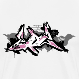 EAZ Graffiti - Men's Premium T-Shirt