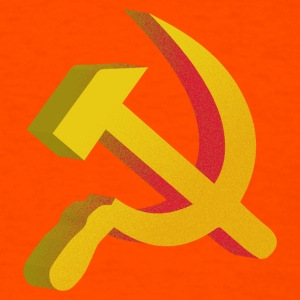 Hammer Sickle Communist - Men's T-Shirt