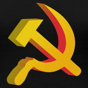 Hammer Sickle Communist - Women's Premium T-Shirt
