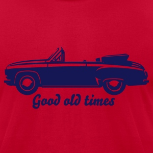 Oldtimer Car Cabrio T-Shirts - Men's T-Shirt by American Apparel