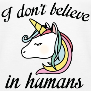 I Don't Believe In Humans - Women's Premium Tank Top