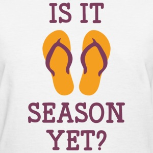 Flip Flop Season - Women's T-Shirt