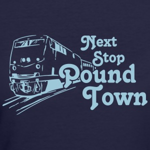 Pound Town - Women's 50/50 T-Shirt