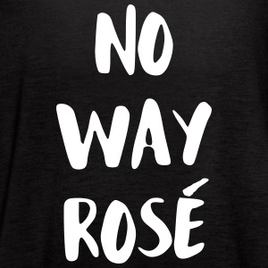 No Way Rose Tanks - Women's Flowy Tank Top by Bella