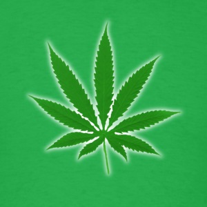 Weed leaf T-Shirts - Men's T-Shirt