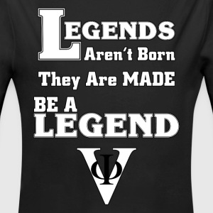BE A LEGEND Kids Baby Long Sleeve One Piece - Long Sleeve Baby Bodysuit