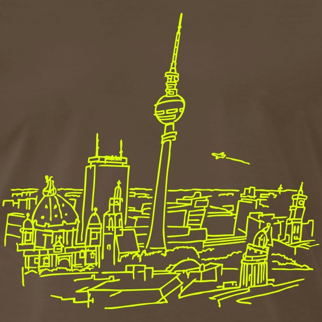 Panorama of Berlin (neon)