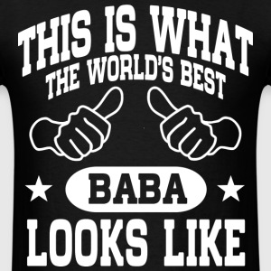 World's Best Baba T-Shirts - Men's T-Shirt