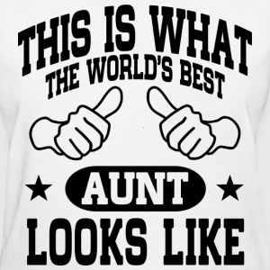 World's Best Aunt T-Shirts - Women's T-Shirt