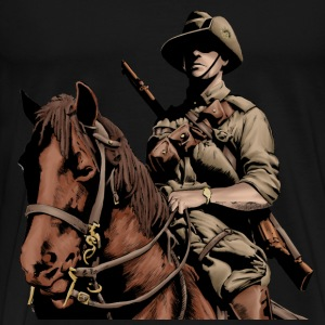 Australian Light Horse- ANZAC - Men's Premium T-Shirt