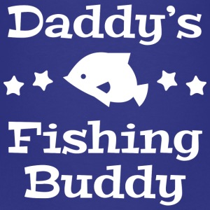 Daddy's Fishing Buddy - Kids' Premium T-Shirt