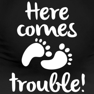 Here Comes Trouble - Women's Maternity T-Shirt