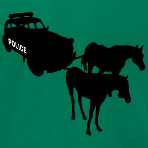 Police  2CV Deux Chevaux  T-Shirts - Men's T-Shirt by American Apparel