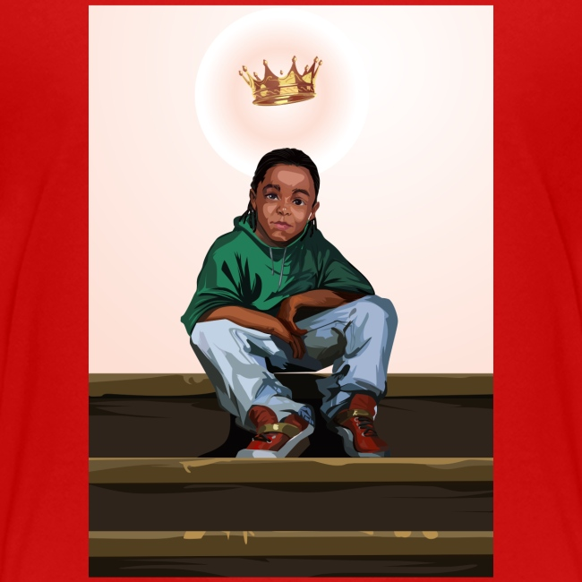 To Be A King (Kid's Red T-Shirt)