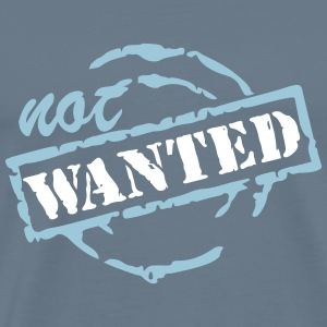 wanted not_vec_3 us T-Shirts - Men's Premium T-Shirt