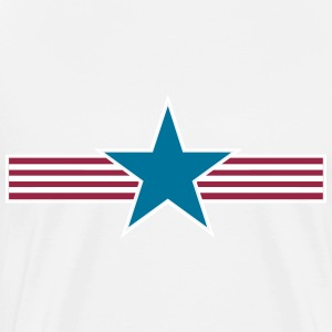 star stripes_vec_3 us T-Shirts - Men's Premium T-Shirt