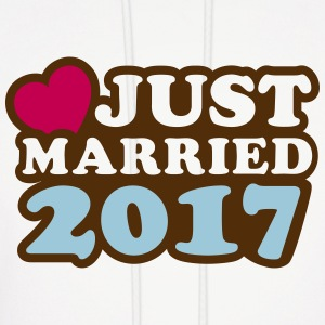 Just Married 2017 Hoodies - Men's Hoodie