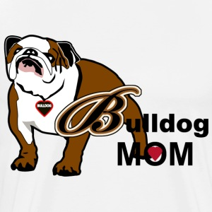 Bulldog Mom - Men's Premium T-Shirt