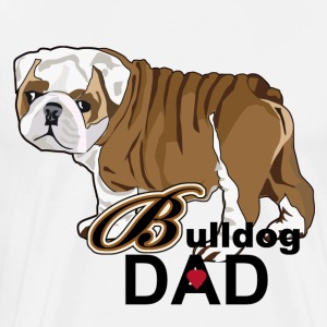 Bulldog Dad - Men's Premium T-Shirt