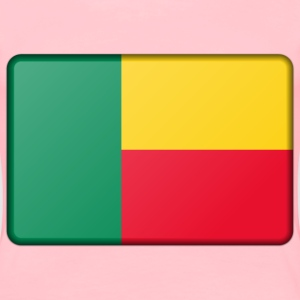 Benin flag (bevelled) - Women's Premium T-Shirt