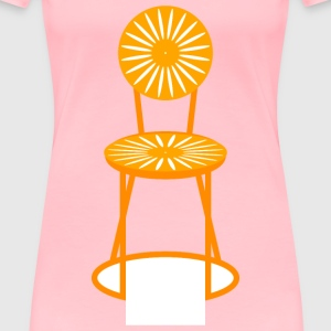 Sunburst Chair - Women's Premium T-Shirt