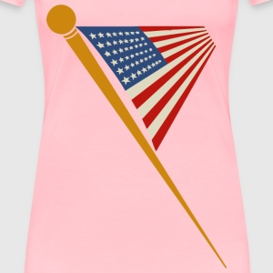 US flag 2 - Women's Premium T-Shirt