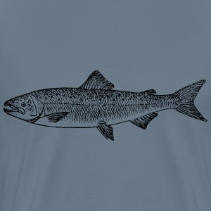 Salmon 3 - Men's Premium T-Shirt