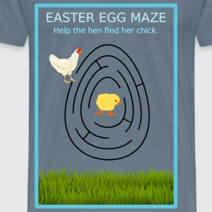 Easter Egg Maze - Men's Premium T-Shirt