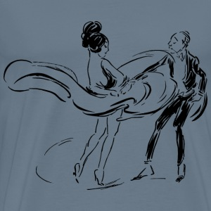 Dancing Couple - Men's Premium T-Shirt
