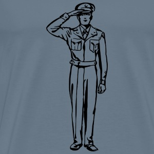 Saluting - Men's Premium T-Shirt