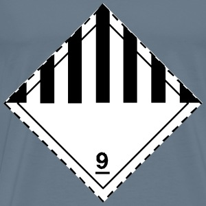 ADR pictogram 9Miscellaneous dangerous substances - Men's Premium T-Shirt