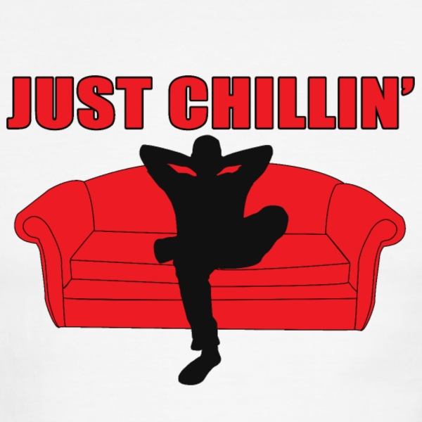 Just Chillin - Men's Ringer T-Shirt